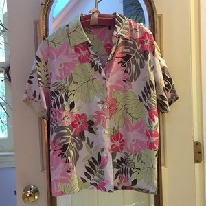 Tommy Bahama Tropical Print Top - M